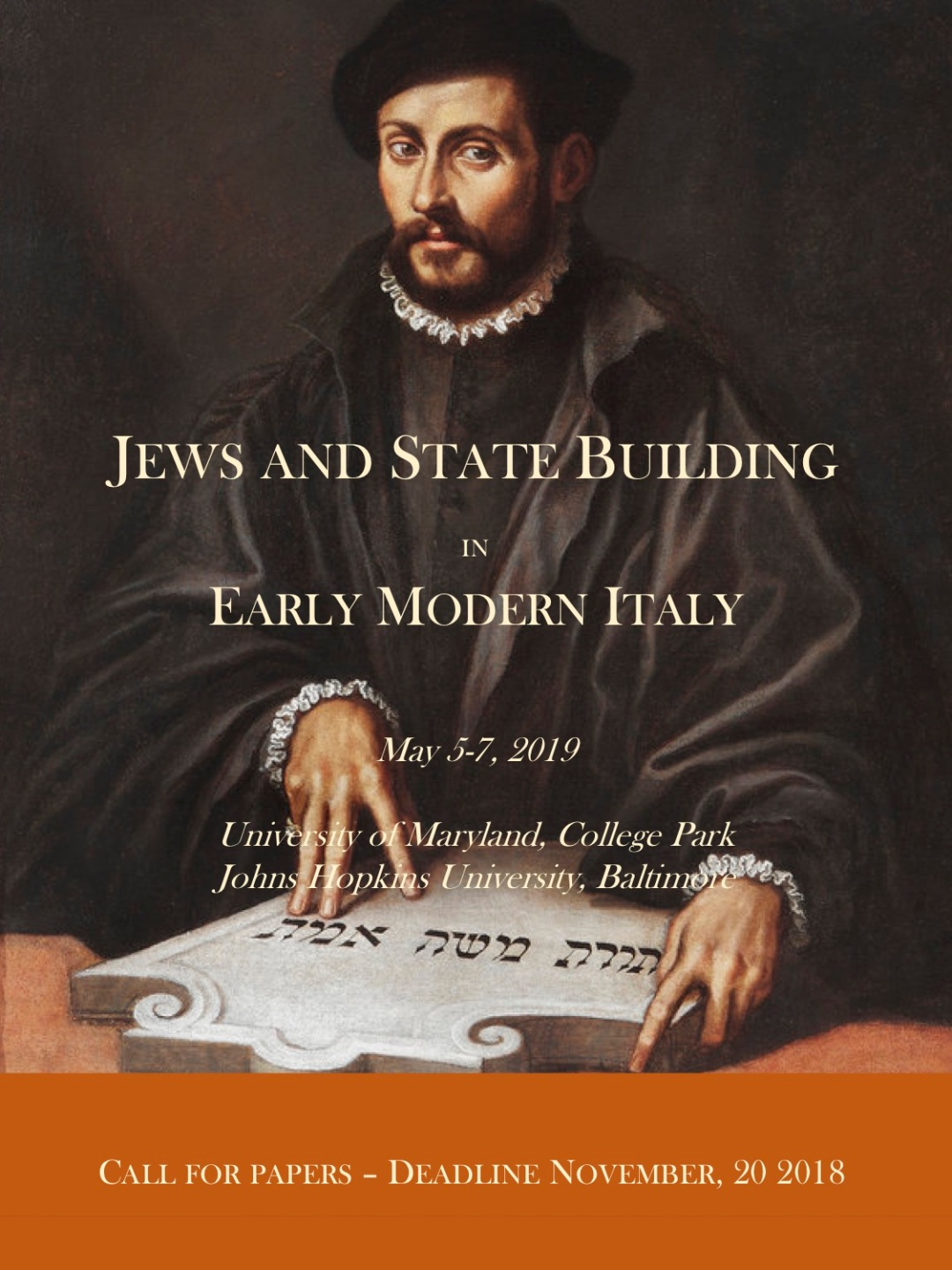 Jews and State Building CFP, deadline Nov. 20